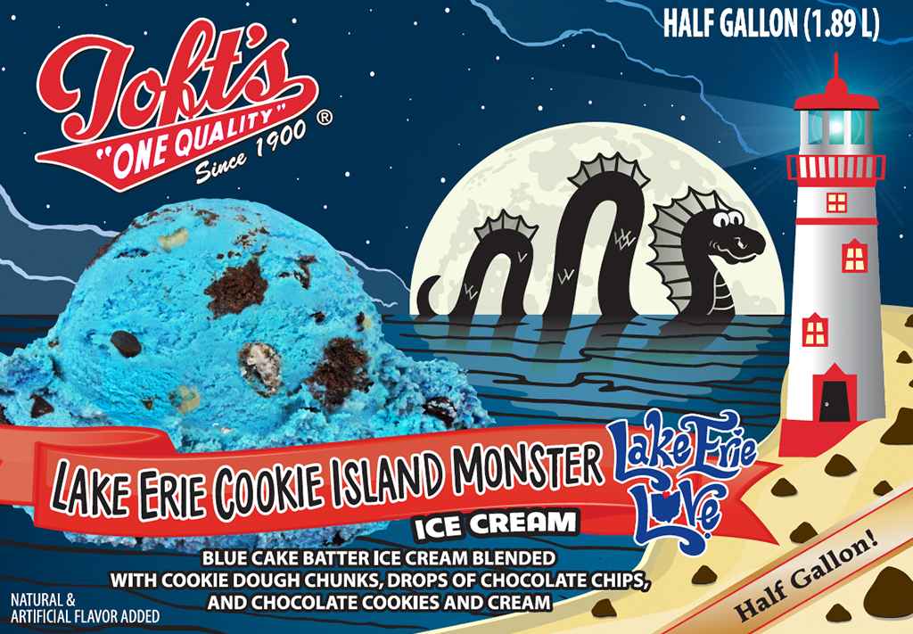LakeErieCookieIslandMonster