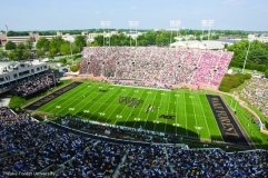 Wake Forest football takes on Mississippi at BB&T Field in Winston-Salem on Saturday, September 6, 2008. The Deacons won 30-28 on a field goal with 3 seconds remaining on the clock.