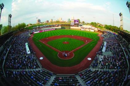 BB&T Ballpark Opening Night