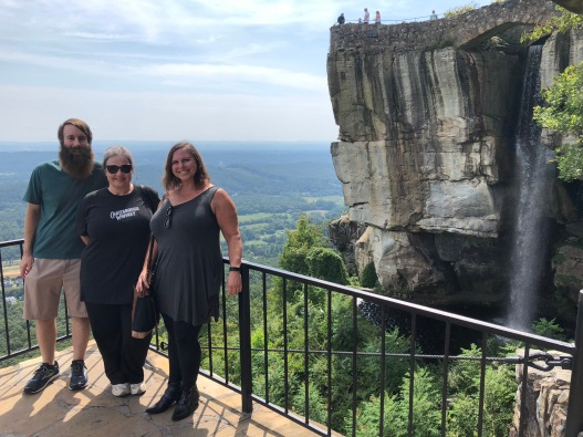 Lookout Mountain Rock City Gardens Looking at Lovers Leap